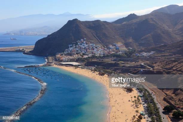 Spain, Canary Islands, Tenerife, Playa de las Teresitas, beach,