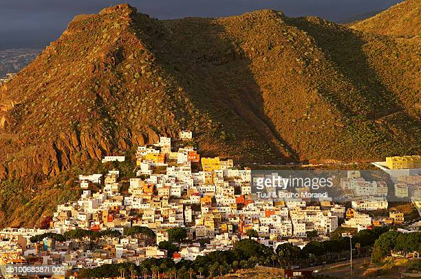 spain, canary islands, tenerife, san andres village - san bruno stock pictures, royalty-free photos & images