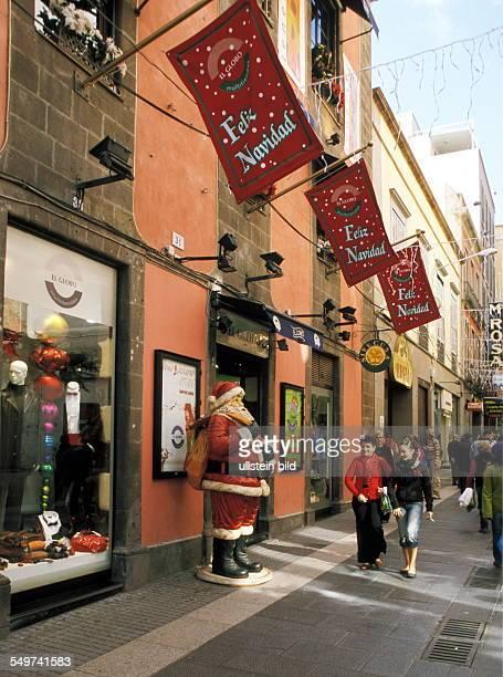 ESP Spain Canary Islands Tenerife Santa Cruz on christmas