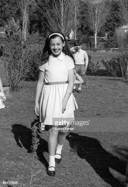 1961 Spain Carmen Martinez Bordiu daughter of Marquess of Villaverde y granddaughter of Franco