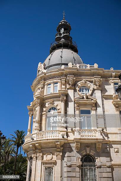 Spain, Cartagena, Low angle view of Town Hall