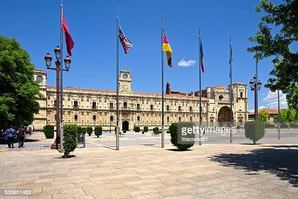 Spain, Castile and Leon, Province of Leon, Leon, Parador de Leon, Plaza de San Marcos