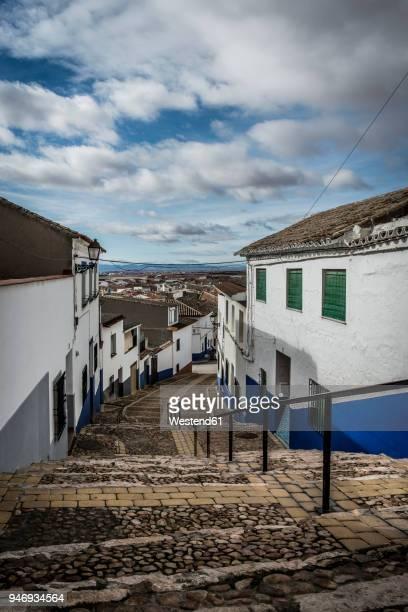 Spain, Castile-La Mancha, Campo de Criptana, Old town, alley