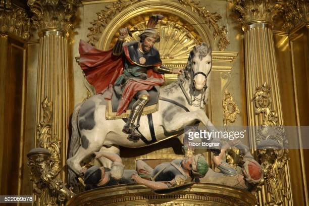 spain, castilla leon, burgos, cathedral, santiago chapel - burgos stock-fotos und bilder