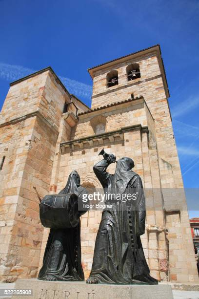 Spain, Castilla Leon, Zamora, San Juan church, Semana Santa figures