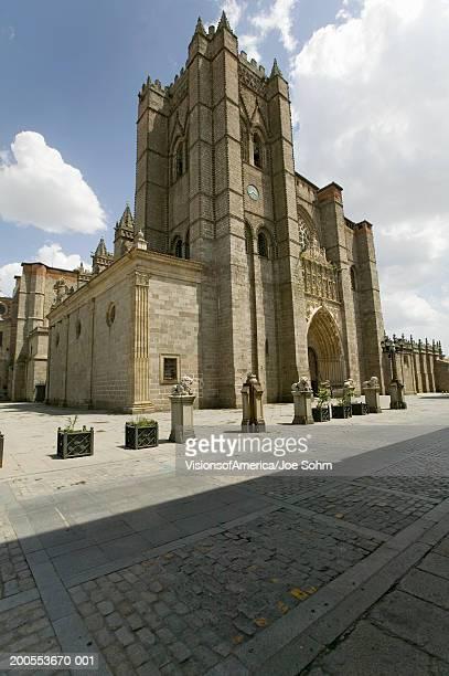 Spain, Castilla, village of Avila, cathedral of Avila