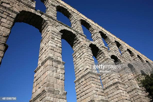 Spain Castille Leon Segovia Roman Aqueduct