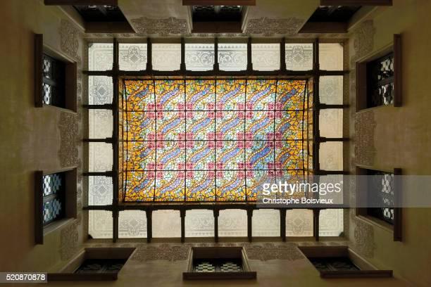 spain, catalonia, barcelona, passeig de gracia, casa amatller build by architect josep puig i cadafa - puig barcelona stock pictures, royalty-free photos & images