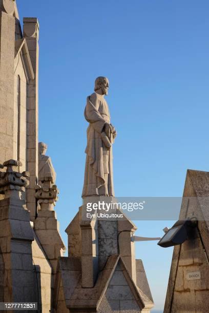 Spain, Catalonia, Barcelona, Temple Expiatori del Sagrat Cor Mount Tibidabo.