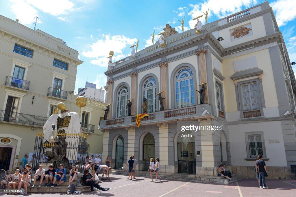 Dali Theatre-Museum. : News Photo