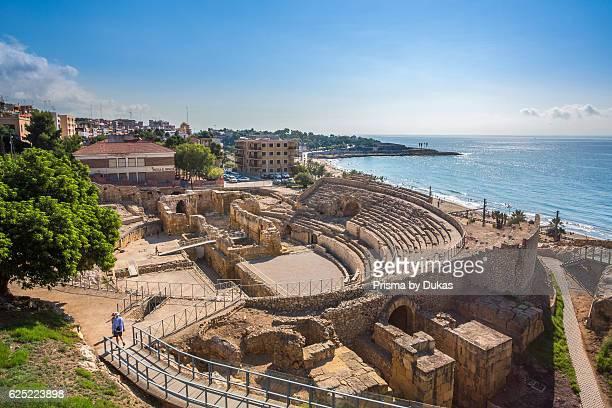 Spain Catalonia Tarragona City Roman Amphitheatre UNESCO World Heritage