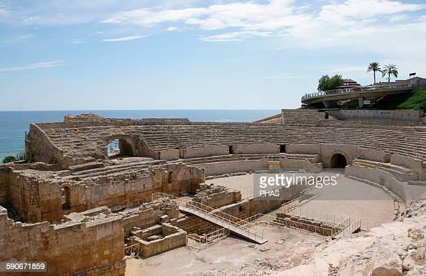 Spain Catalonia Tarragona Roman Amphitheatre Built in the 2nd century AD