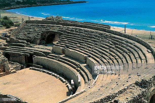 Spain Catalonia Tarragona Roman Tarraco UNESCO World Heritage List 2000 Roman amphitheater 1st century BC 1st century AD
