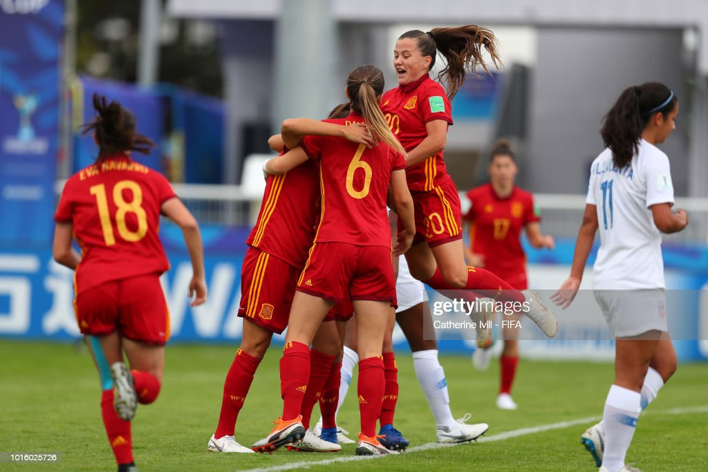 Spain v USA: Group C - FIFA U-20 Women's  World Cup France 2018