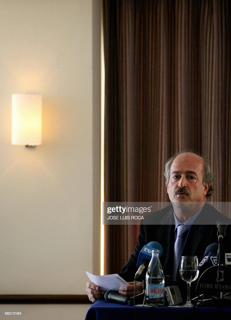 Chilean lawyer Fernando del Valle speaks : Fotografía de noticias
