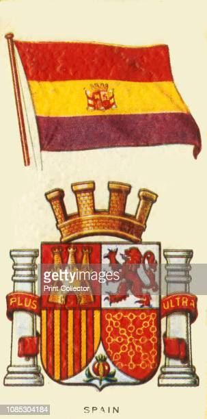 Spain' circa 1935 From An Album of National Flags and Arms [John Player Sons circa 1935]Artist Unknown