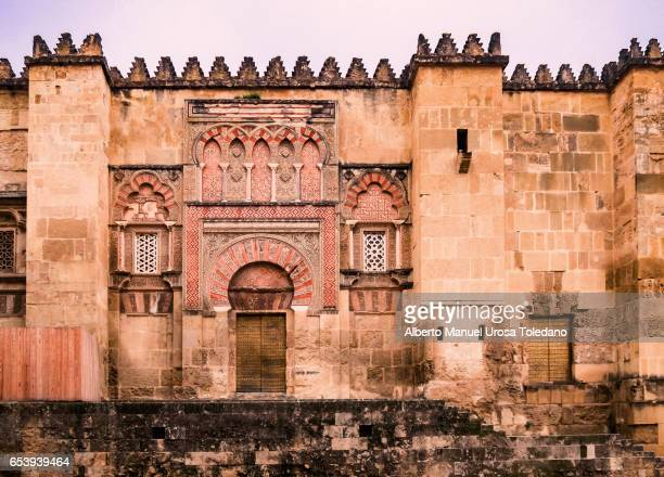 Spain, Cordoba, Mosque-Cathedral of Cordoba, Facade