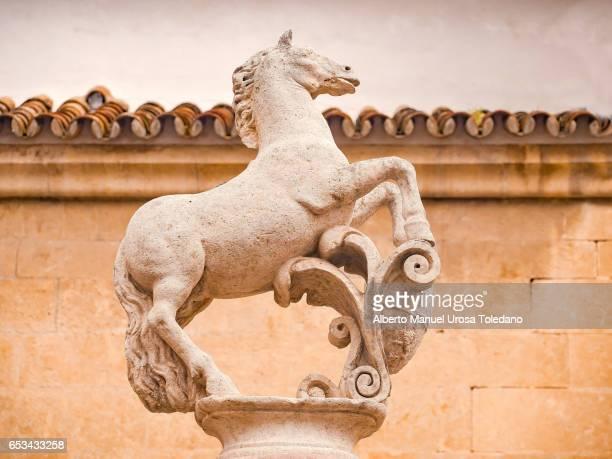Spain, Cordoba, Square of del Potro, Statue