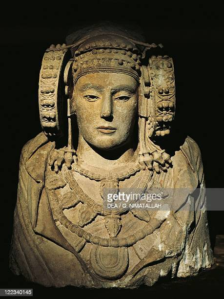 Spain Elche The Lady of Elche stone bust
