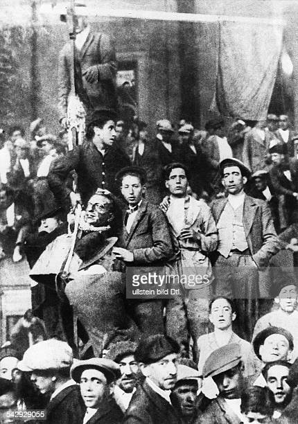 Spain events before outbreak of civil warAfter the republican victory in local government elections king Alfonso XIII resigns and goes into exile...
