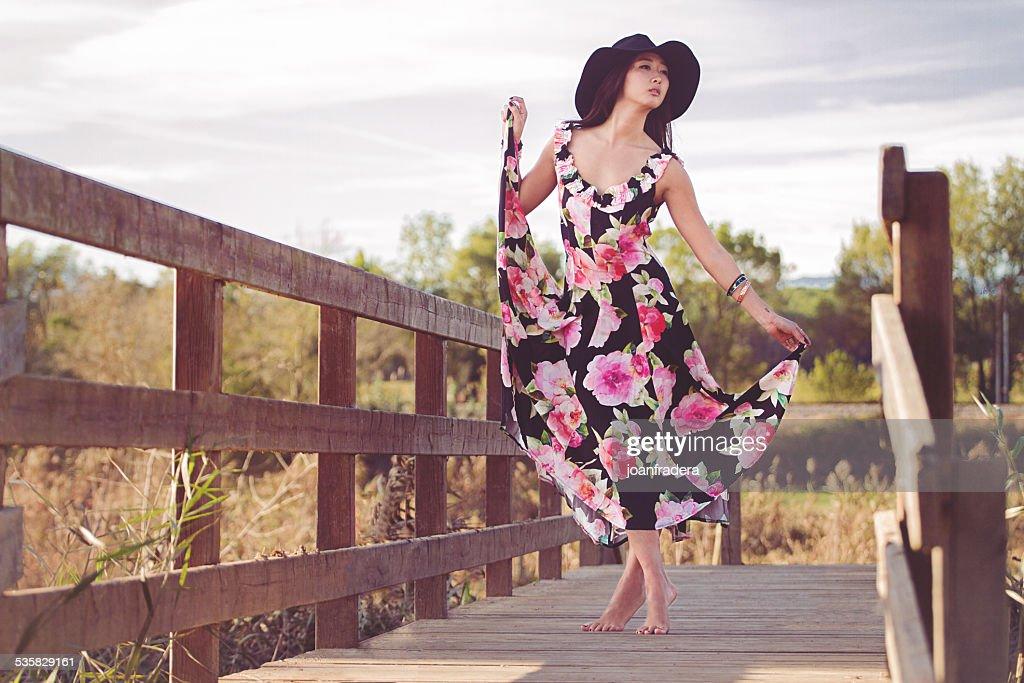 Spain, Fashion Spring : Stock Photo