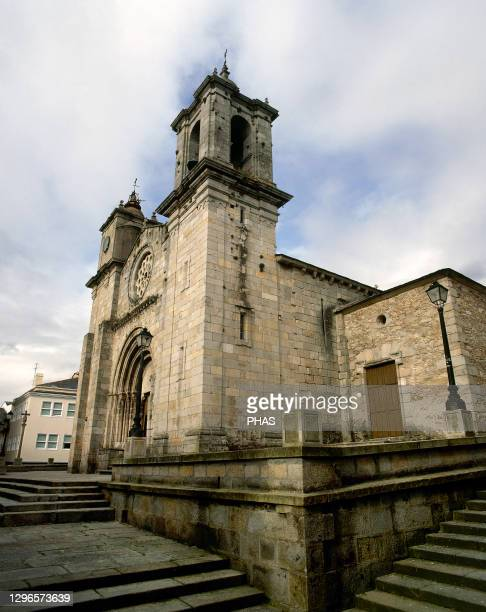 Spain, Galicia, Lugo province, Viveiro. Church of Santa Maria del Campo . It was built during the second half of the 12th century in Romanesque...