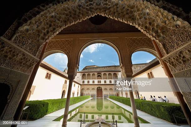Spain, Granada, Alhambra Palace, Court of Myrtles, The Serallo