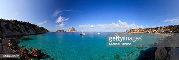 Spain, Ibiza, Cala D'Hort Beach