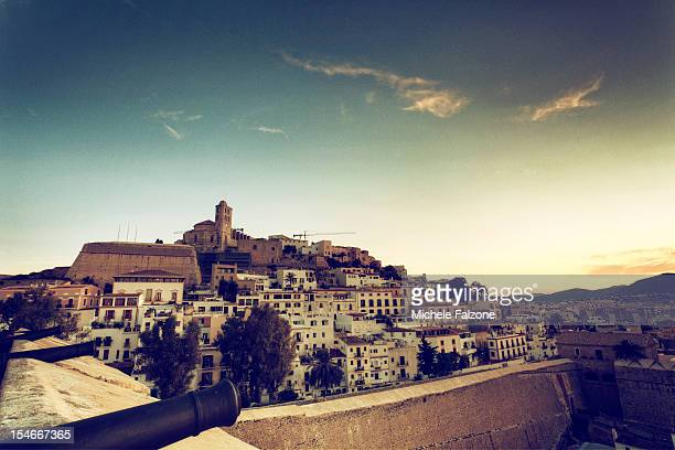 Spain, Ibiza, Old Town (Dalt Vila)