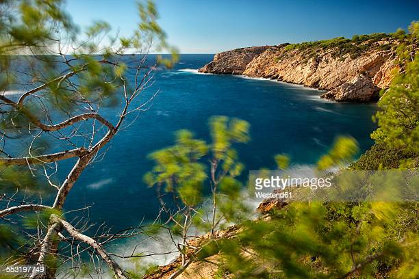 Spain, Ibiza, Vadella Creek