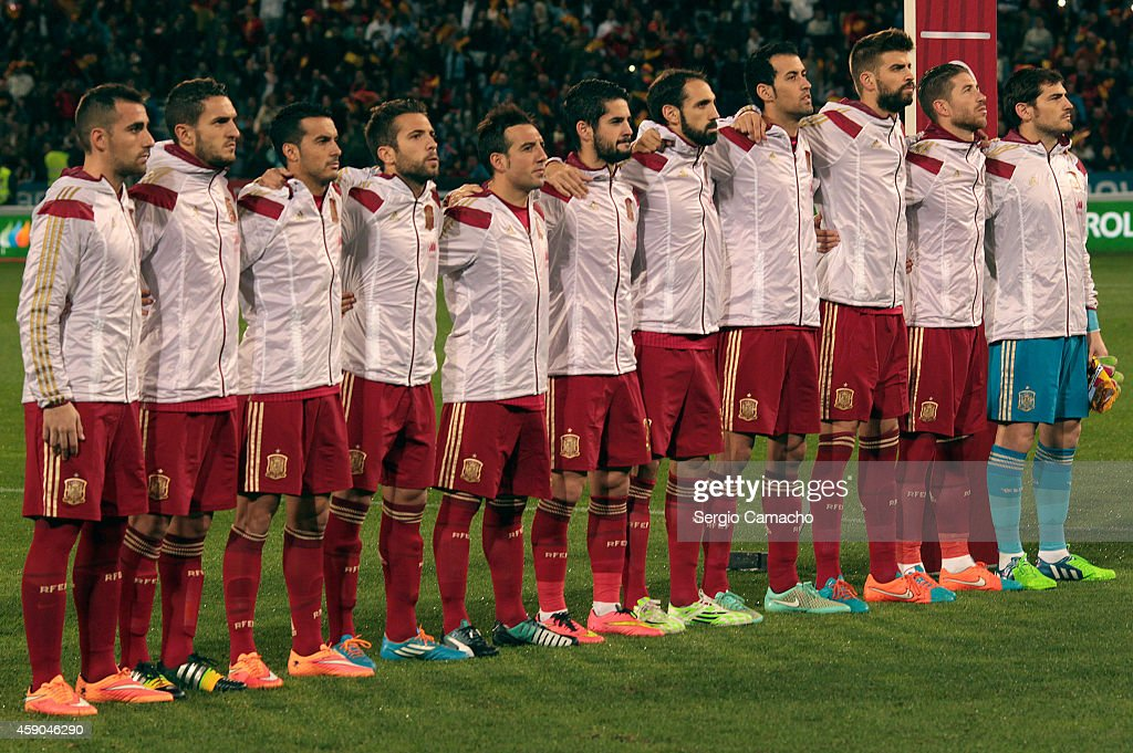 Spain V Belarus - Euro 2016 Qualifier : News Photo
