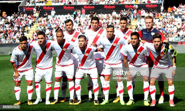 Spain La Liga 123 _ 20172018 / 'n 'nRayo Vallecano Team