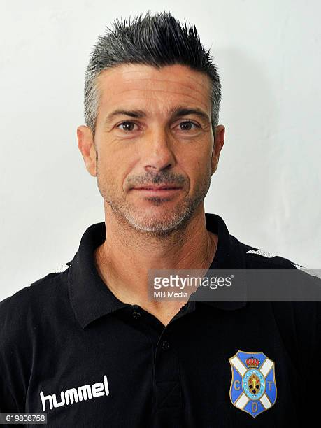 Spain La Liga B Jose Luis Marti Soler DT Club Deportivo Tenerife