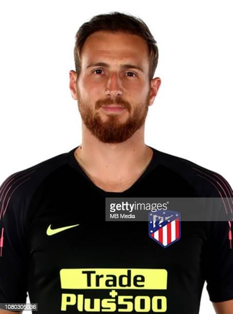 Spain La Liga Santander 20182019 / n nJan Oblak