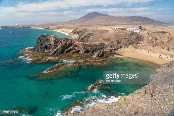Spain, Lanzarote, Playas de Papagayo