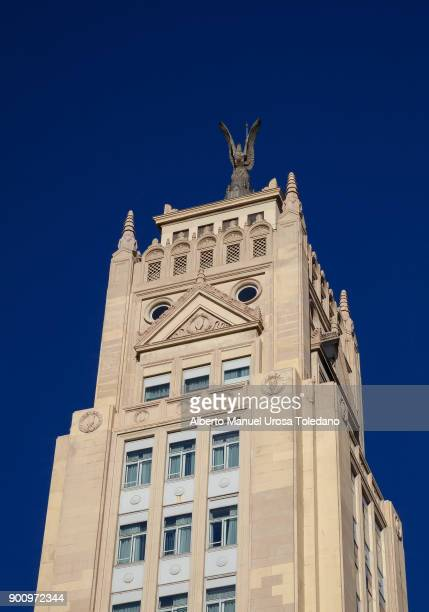 Spain, Madrid, Alcala Torre Building