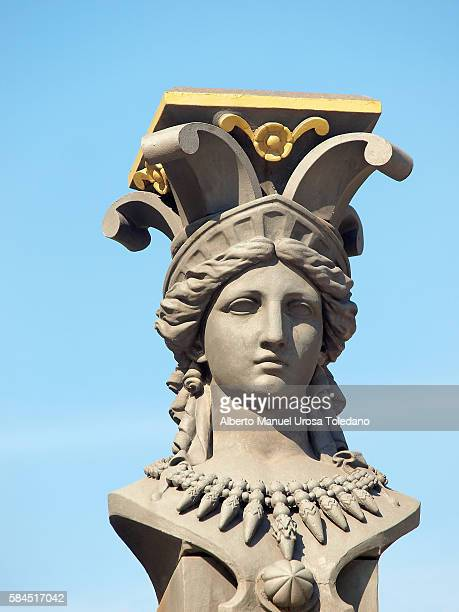 Spain, Madrid, Caryatid