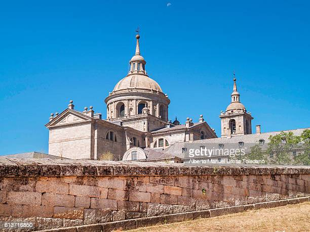 Spain, Madrid, El Escorial, Dome of the Basilica