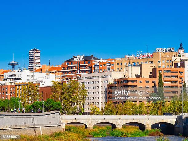 Spain, Madrid, Manzanares River