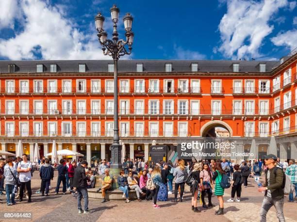 Spain, Madrid, Plaza Mayor square
