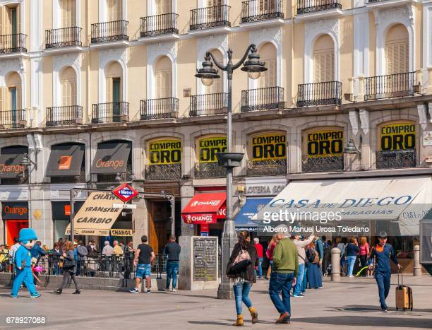 Spain, Madrid, Puerta del Sol square - Metro Station