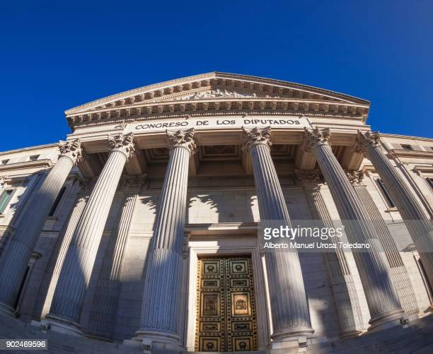 spain, madrid, the congress of deputies - congress of deputies stock pictures, royalty-free photos & images