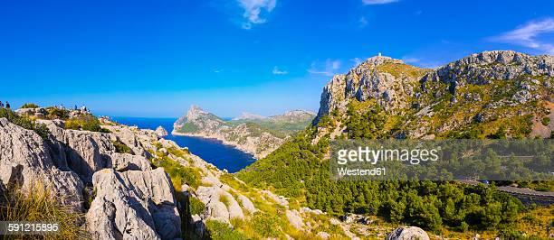 Spain, Mallorca, Cap Formentor, Mirador des Colomer