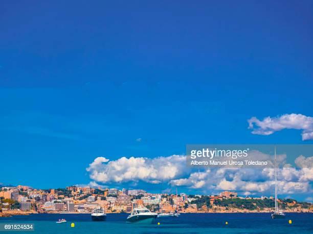 Spain, Mallorca Island, Cala Major, Coastline