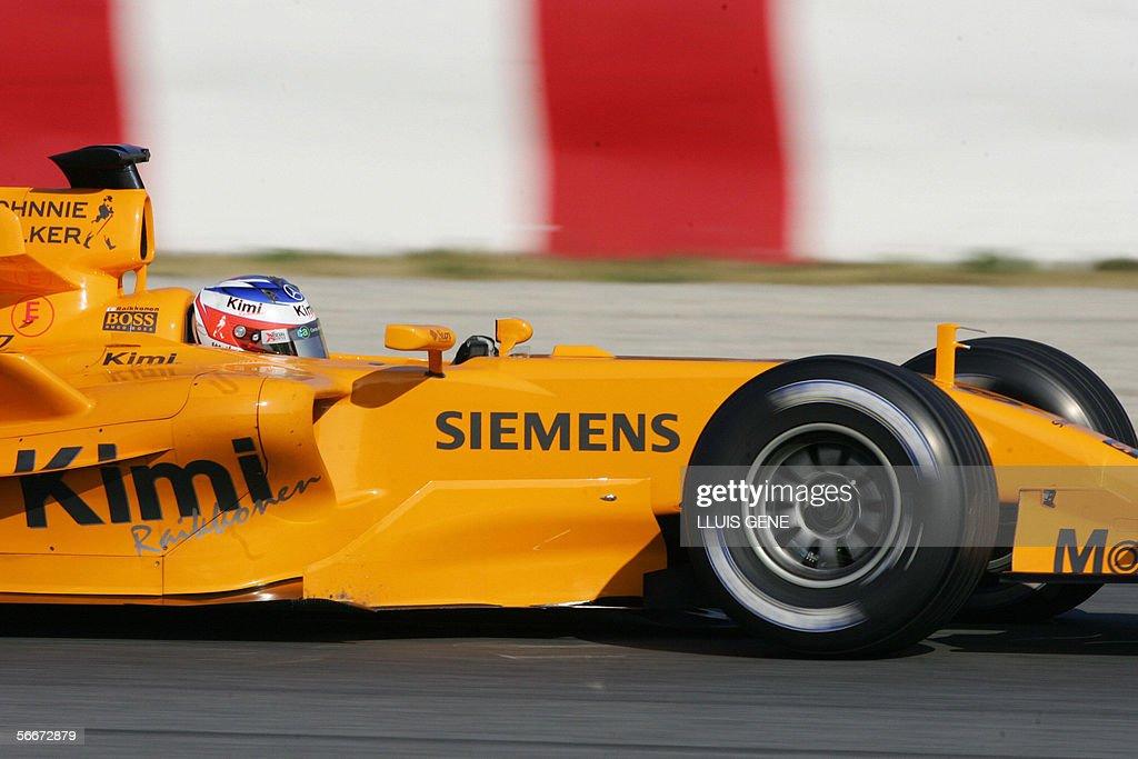 McLaren Formula One driver Finland's Kim : News Photo