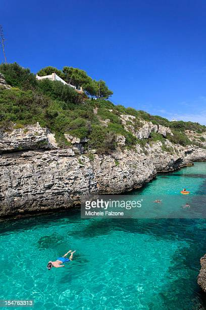 Spain, Menorca, Cala en Brut beach