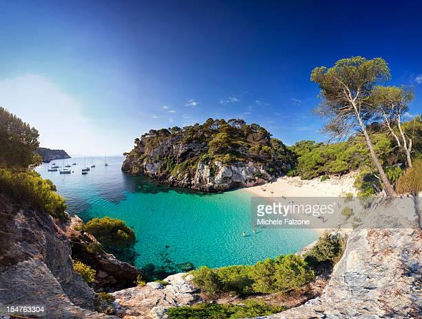 Spain, Menorca, Cala Macarelleta Beach