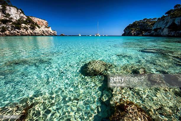 Spain, Menorca, View of Cala Macarella