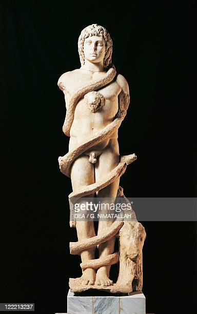 Spain Merida Mithraic Cronus from the excavations of the bullring in 1902