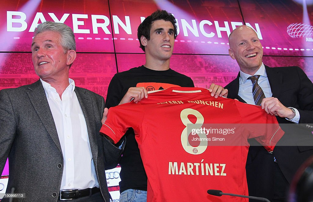 Javier Martinez Signs For FC Bayern Muenchen : News Photo